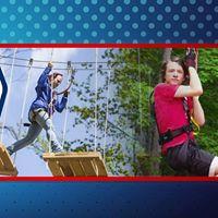 TreeRunner Ninja Race at Treetop Adventure