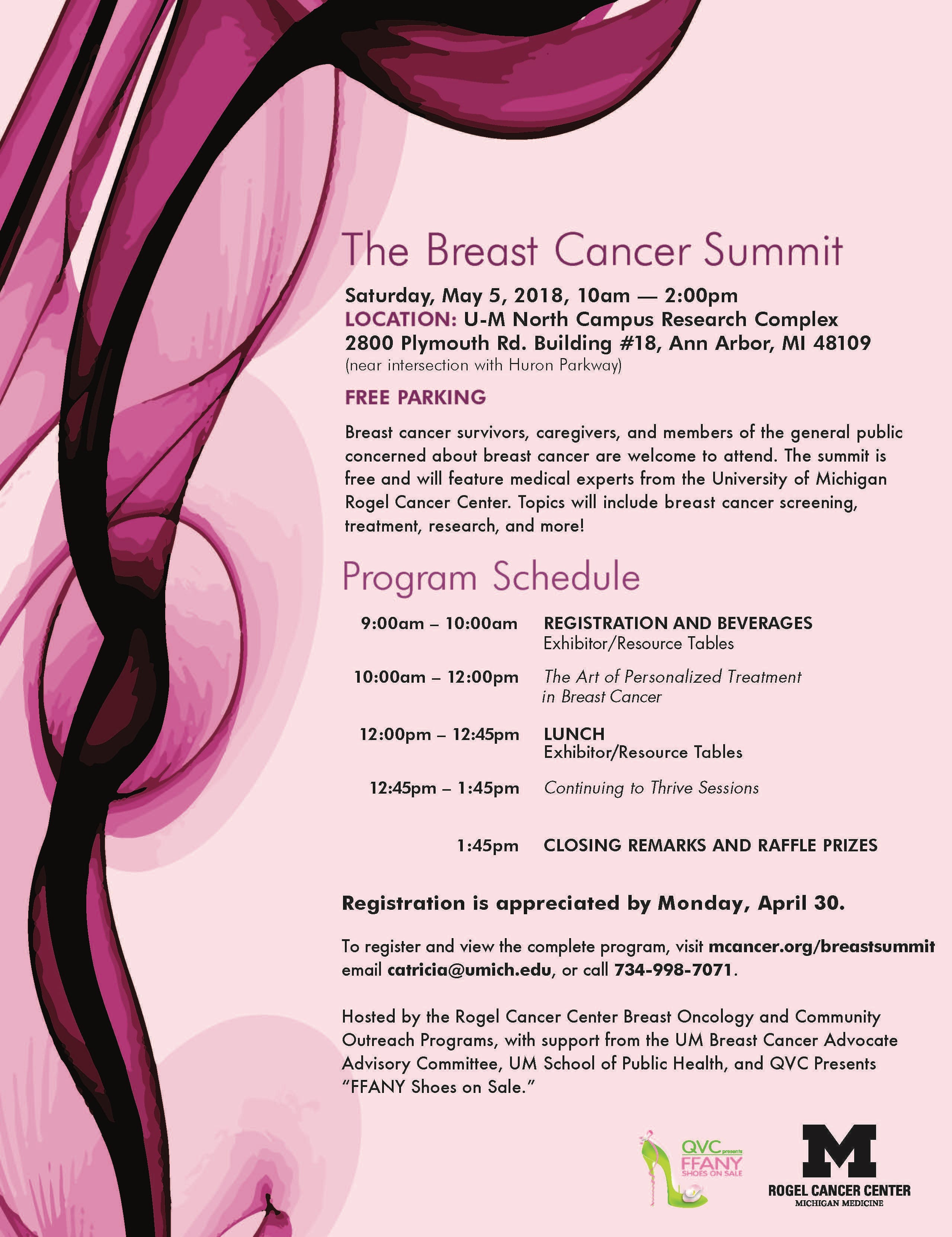 Breast Cancer Summit 2018 at UM North Campus Research
