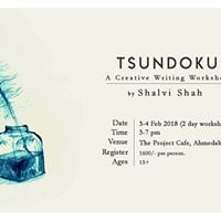 Tsundoku - A creative writing workshop