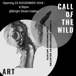Call of the Wild Group Exhibition Mini-solo by Di White