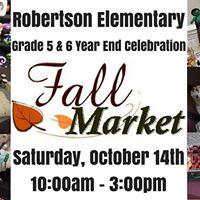Robertson Elementary Annual Fall Market
