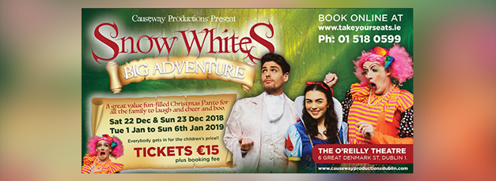 Snow Whites Big Adventure - OReilly Theatre