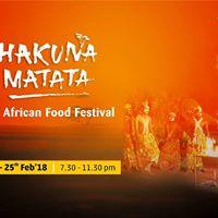 Hukuna Matata - An African Food Festival