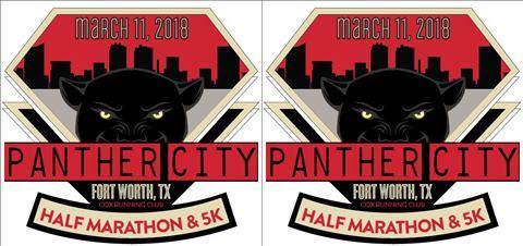 2018 Panther City Half Marathon 5K and 1 Mile Fun Run