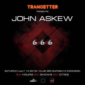 John Askew  6x6x6 Surabaya