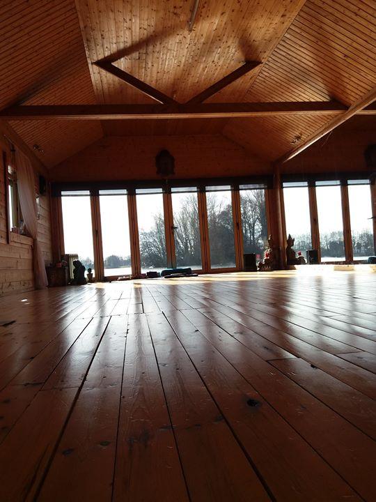 Spring day yoga retreat