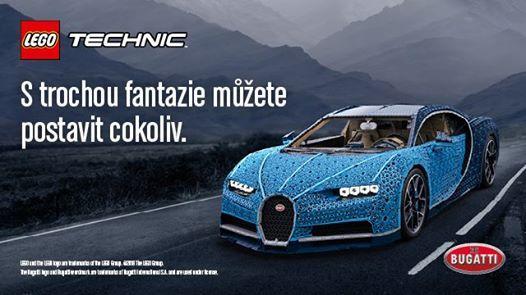 da70d42d0fc Bugatti postavené z milionu dílků LEGO® at Centrum ChodovRoztylská 2321 19