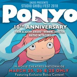 Ponyo 10th Anniversary