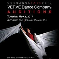 VERVE Dance Company Auditions