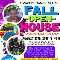 Fall Open House &amp Registration