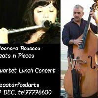 Beats &amp Pieces - Eleonora Roussou (Quartet Lunch Concert)
