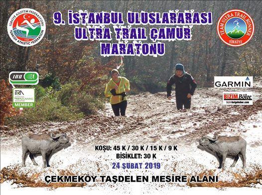 9. stanbul Ultra Trail amur Maratonu