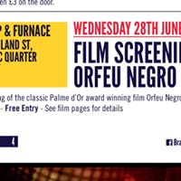 Brazilica Fringe 2017 Film Screening Orfeu Negro