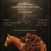 Only the Mind Cannot Be Sent into Exile by Veer Munshi