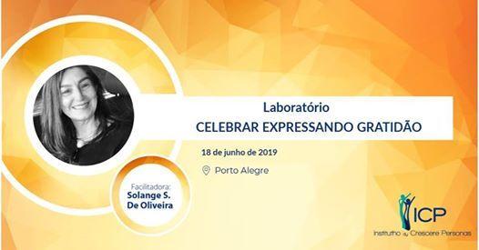 Laboratrio Celebrar Expressando Gratido