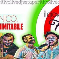 Stasera  Florio_iRoxy Live_Il Gioved ItalianoCantaBallando_