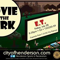 Movie in the Park - E.T. the Extraterrestrial