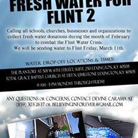 Fresh Water For Flint Pt. 2 (Water Drive)