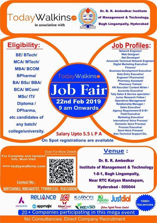 TodayWalkins.com Job Fair