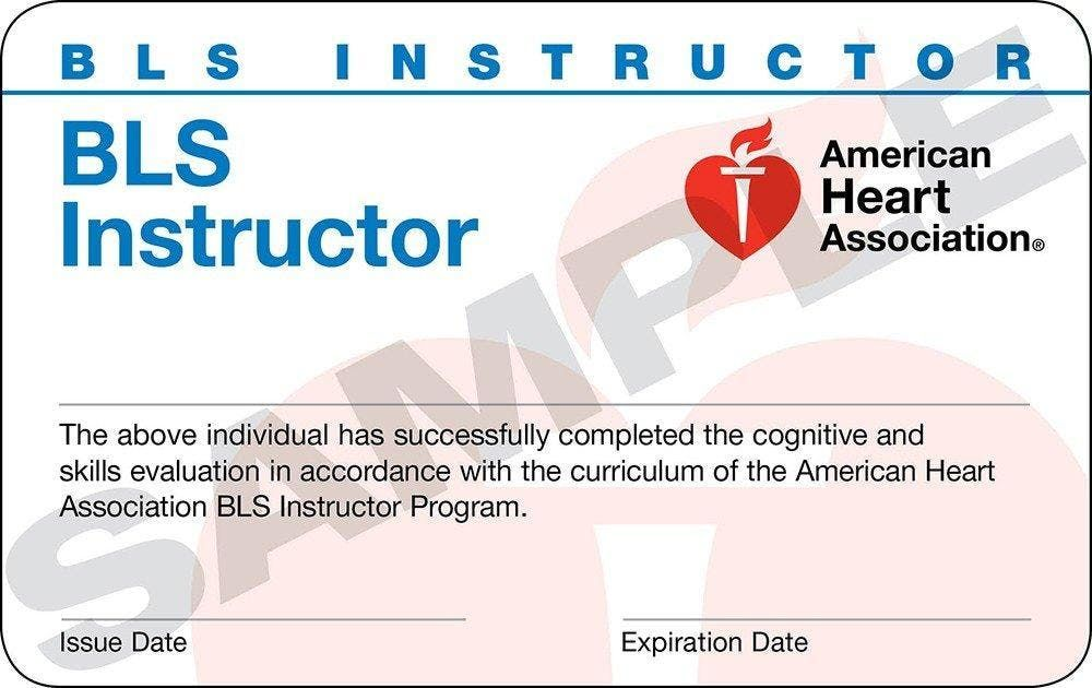 American Heart Association Cpr And Bls Instructor Class At Florida