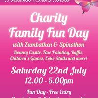 Charity Family Fun Day with Zumba and Spinathon