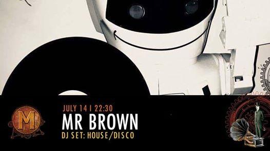 Mr Brown  DJ Set HouseDisco