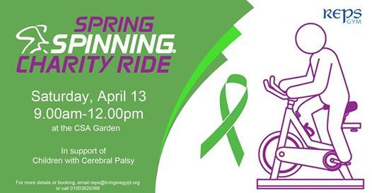 Spring Spinning Charity Ride