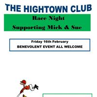 Benevolent Race Night for Mick and Sue