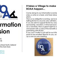 BOAA info session