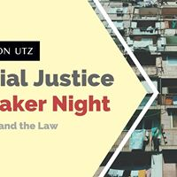 Clayton Utz Social Justice Speaker Night Poverty and the Law