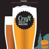 Craft Beer &amp Burger Festival Karlovac 2.0