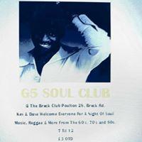 G5 Soul Club Northern Soul &ampMotown Reggae Ska Night