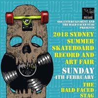 2018 Sydney Summer Skateboard Record and Art Fair