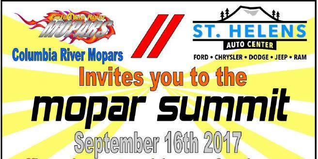 St Helens Auto Center >> 11th Annual Mopar Summit At St Helens Auto Center Ford