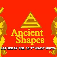 Ancient Shapes (Daniel Romano)  Saturday Feb 10 EARLY SHOW