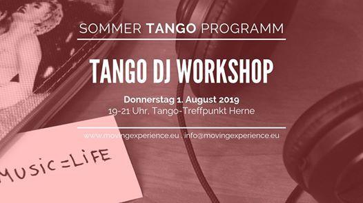 Tango DJ Workshop im Tango-Treffpunkt Herne