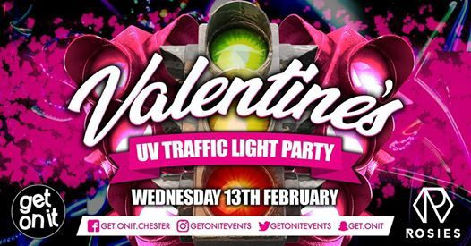 Onit Wednesday - Valentine UV Traffic Light  13th February 2019