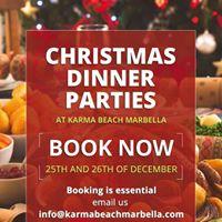 Christmas Dinner Parties
