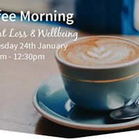 Coffee Morning Weight Loss &amp Wellbeing Event - Wilmslow