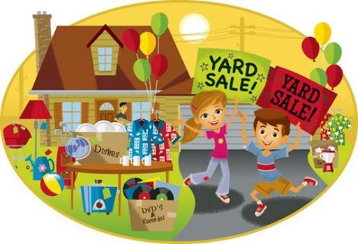Yard sale (Year 910 fundraising for the trip to Spain in March)