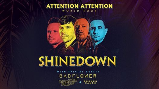 Shinedown ATTENTION ATTENTION World Tour