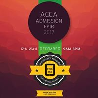 ACCA Admission Fair - 2017