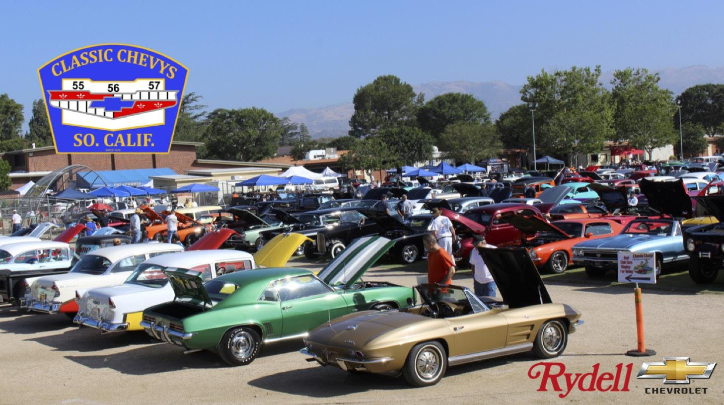 Classic Chevys Of Southern California Annual Car Show At Rancho - Classic car show california