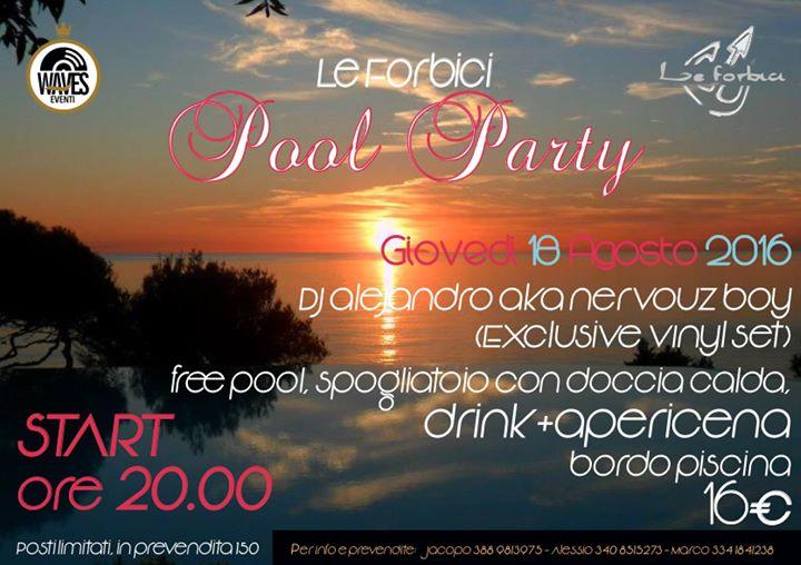 Closing pool party le forbici at bagno le forbici