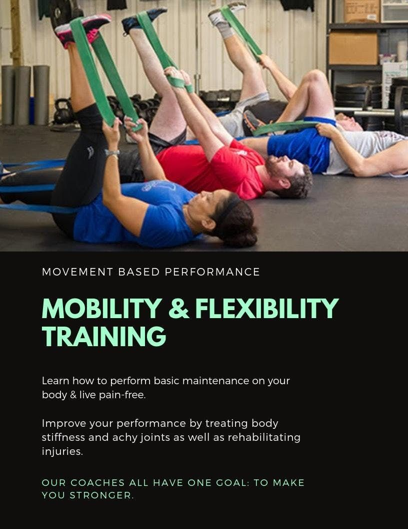 SELF-MAINTENANCE Mobility & Flexibility Training (Learn How To Live Pain-free)