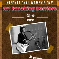 Art Breaking Barriers International Womens Day Coffee House