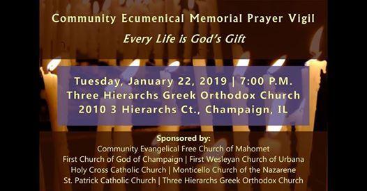 Community Ecumenical Pro-Life Prayer Vigil