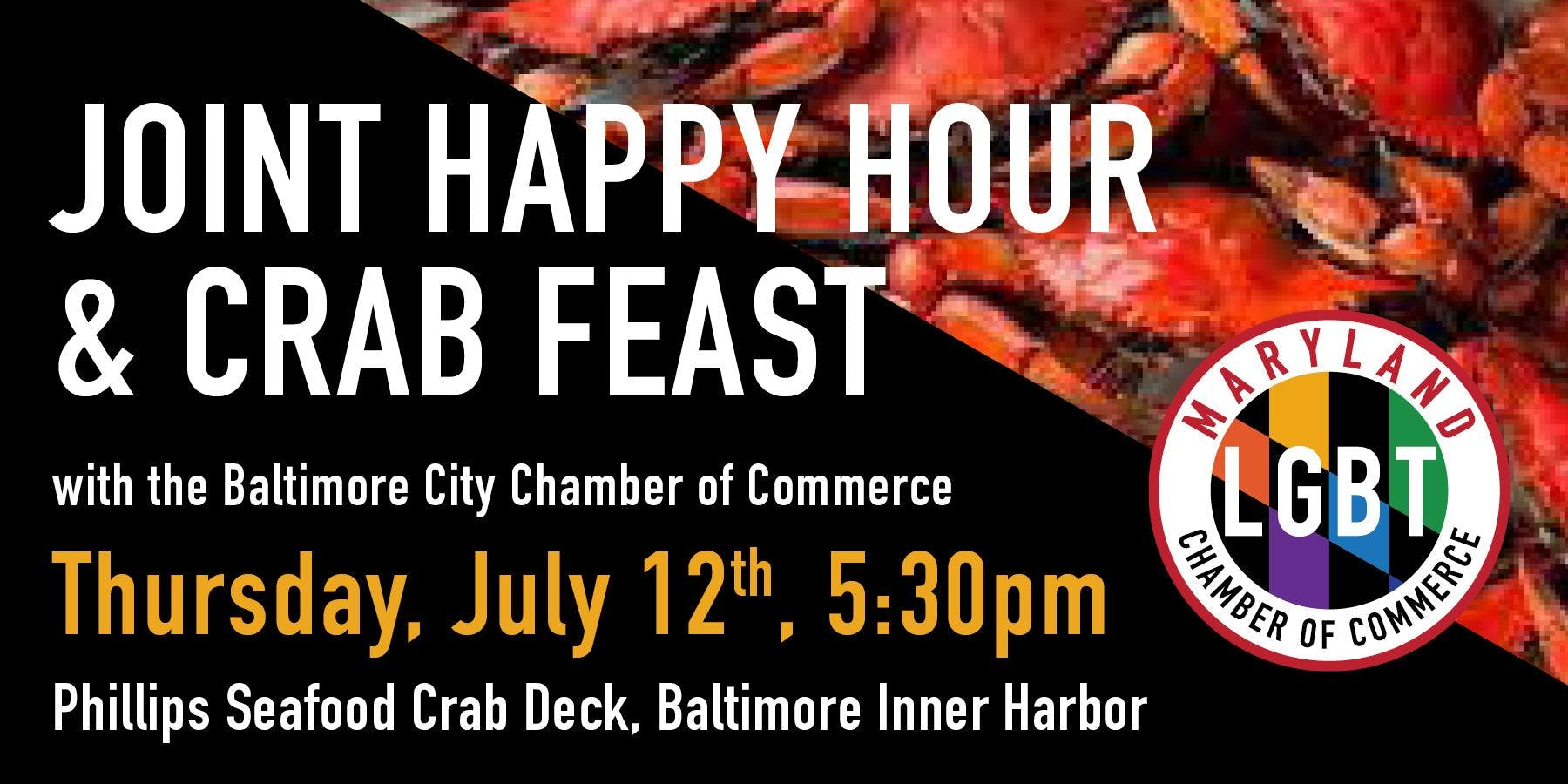 Joint Happy Hour & Crab Feast