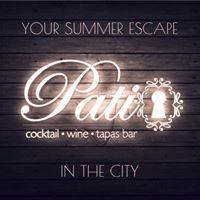 Patio Cocktail Bar