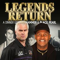 LEGENDS RETURN... dinner with Shane Heal and Cal Bruton